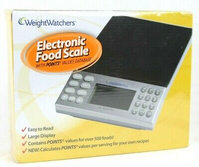 Weight Watchers Electronic Food Scale With Points Values Database NIB