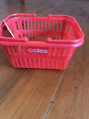 Coles Little Shop Mini BASKET (set 2)