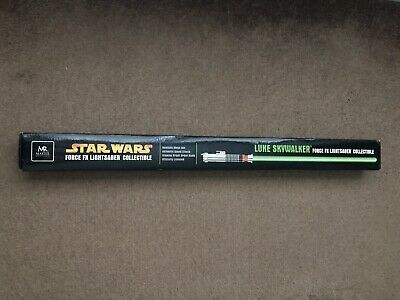 Master Replicas Star Wars Lightsaber Force FX Luke Skywalker