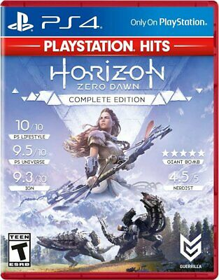 Horizon Zero Dawn Complete Edition Hits - PS4 PlayStation 4 - NEW & SEALED!