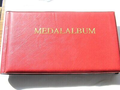 military medal album for ww1, ww2 etc. medals.