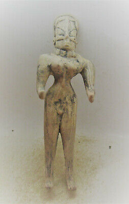 Finest Circa 2000Bce Ancient Indus Valley Harappan Terracotta Male Statuette