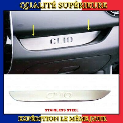 Chrome Tableau de Bord Bordure INOXYDABLE Renault CLIO 4 HB/Grand Tour 2012+