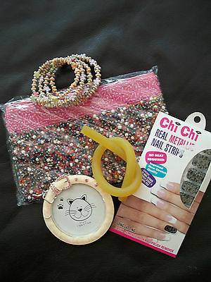 Mixed Lot: Girl's Purse and Acessories Gift Pack -all items new -excellent gift!