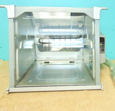 NEW Ronco Showtime Digital Rotisserie & BBQ Model 5000 Silver w/ Accessories