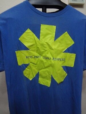 Red Hot Chili Peppers-Lime Asterisk- Blue T-shirt