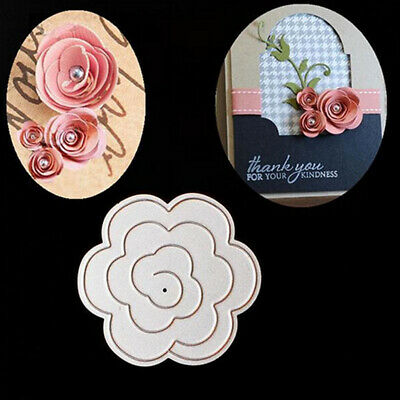 Flower Cutting Dies Stencil Crafts Scrapbooking Paper Card Embossing DIY Decor