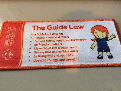 Girl Guides / Scouts Guide Law