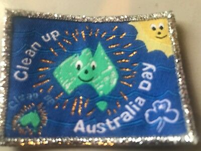 Girl Guides / Scouts Clean up Australia Silver