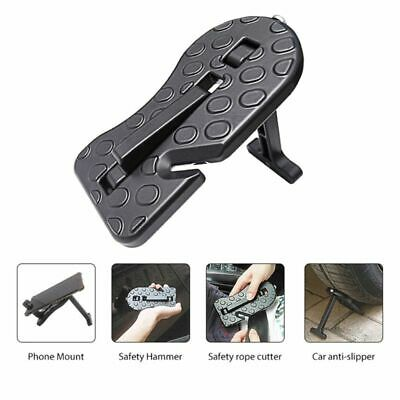 Mini Folding Car Door Latch Hook Step Foot Pedal Ladder for SUV Jeep Truck Roof
