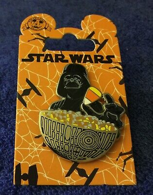 Disneyland Resort Pin Star Wars DARTH VADER Candy Corn & Death Star bowl NEW