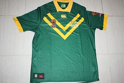 kangaroos rugby men's rlwc wold cup pro Jersey ARL, WITH DEFECTS