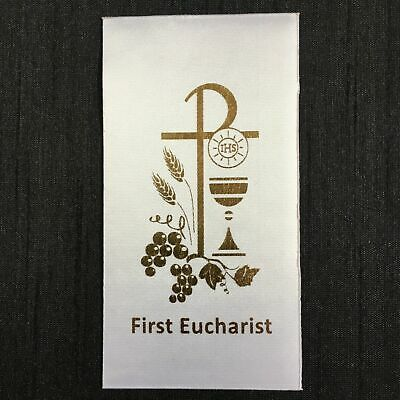 DIY FIRST EUCHARIST Holy Communion (E) Sacrament Motif Iron-On/Sew-On for stole