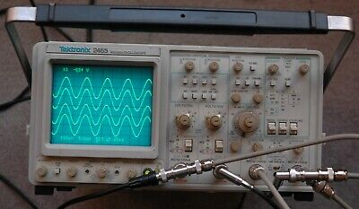 Tektronix 2465 300 MHz Oscilloscope, Calibrated, SN: B024975