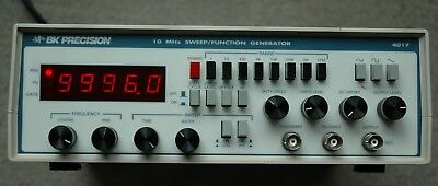 BK Precision 4017 10Mhz Function Generator, Works Great! Made in USA