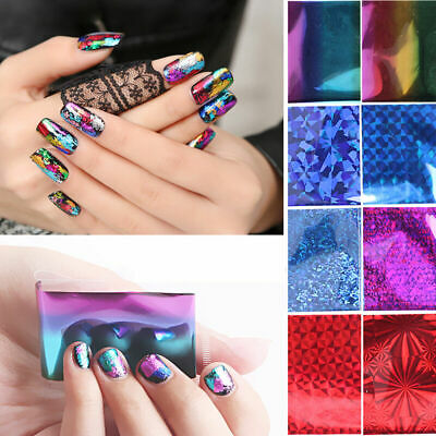 20Pcs/set DIY Nail Foils Starry Sky Nail Art Transfer Sticker Manicure T9X2