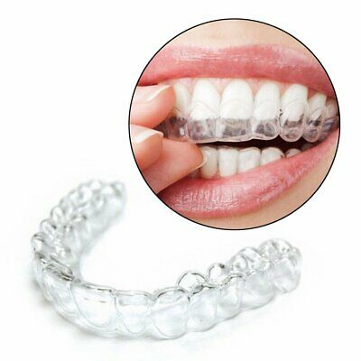 2/12X Mouth Trays Guard Tooth Teeth Whitening Whitener Remouldable Gum Shield