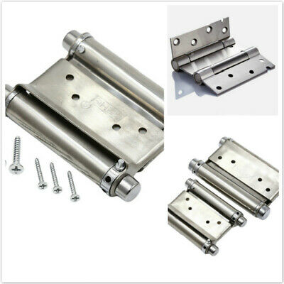 Double Action Spring Door Hinge Rebound Hinges For Cafe Swing HD