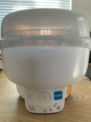 MAM 6 In 1 Electric Sterilizer And Bottle Warmer