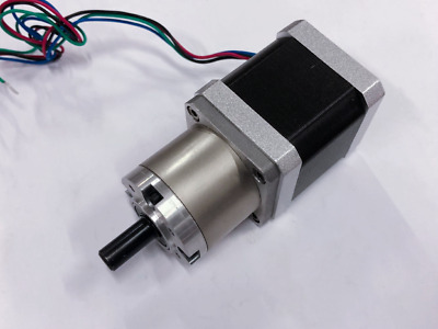 1PC Planetary Gearbox Stepper Motor Nema17 1.8°, 1:13.6, 4wires 17HS5412-3AG13.6