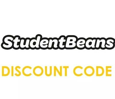 STUDENT BEANS Student Discount Code Available 100% Verified