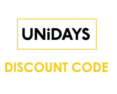 My UNIDAYS Student Discount Code Available 100% Verified