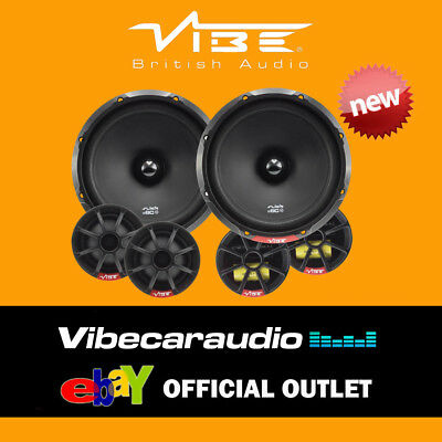 """Vibe SLICK 6C-V7 + CT25FD07 540 Watts 6.5"""" 17cm Component Speakers Ford Focus"""