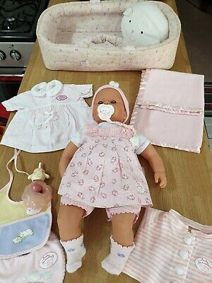 Zapf Creation  Vintage Adorable Baby Annabell Doll