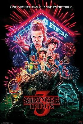 Stranger Things One Sheet Upside Down Maxi Poster Print 61x91.5cm | 24x36 inches