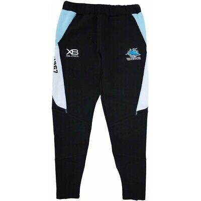 Cronulla Sharks 2019 Track Pants Sizes Small - 4XL NRL XBlades SALE