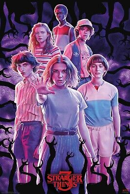 Stranger Things Group Eleven Will Maxi Poster Print 61x91.5cm | 24x36 inches