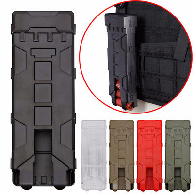 12 Gauge Shotgun Shell Magazine 10 Round Molle Carrier Holder Tactical Pouch Hot
