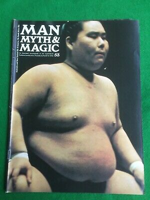 Man Myth and Magic magazine Occult Supernatural No.53