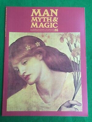 Man Myth and Magic magazine Occult Supernatural No.58