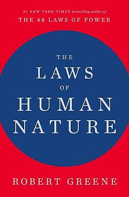 The Laws of Human Nature by Robert Greene (English) Hardcover Book Free Shipping