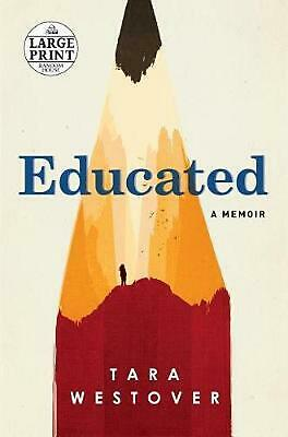 Educated: A Memoir by Tara Westover (English) Paperback Book Free Shipping!