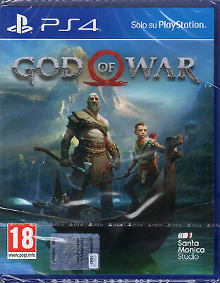 GOD OF WAR 4 2018,Bluray,PLAYSTATION 4,PS4,PRO Enhanced,Italiano,Nuovo,SIGILLATO