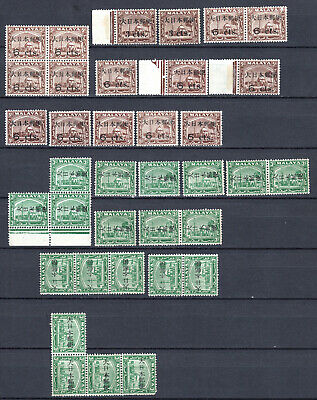 Malaya Straits Settlements 1942 Japanese Occupation Selection Of Mnh Stamps Un/M