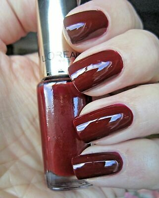 L'oreal Le Vernis A Ongles Color Riche 410 Bordeaux Escape Tenue 10 Jours 5Ml