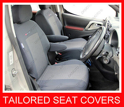 OUTLET # 78  Tailored Seat covers for Citroen Berlingo 2008 - on 2 x front seats