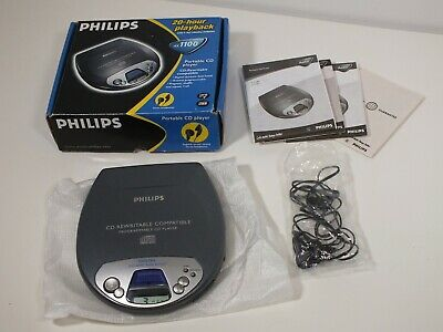 BOXED - Philips AX1100 CD Player CD RW COMPATIBLE - SUPERB CONDITION