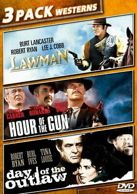 3 Pack Westerns: Lawman / Hour of the Gun / Day of the Outlaw NEW DVD