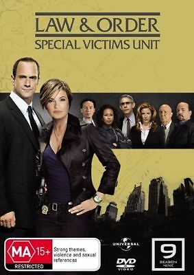 Law And Order SVU Special Victims Unit Season 9 (DVD, 5-Disc Set) (L6)