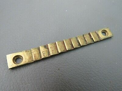 Antique writing slope brass ratchet strap - box spares parts