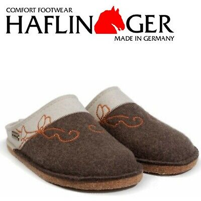 Haflinger Flair Cottage Wool Felt Clogs Mules - All Colors And Sizes