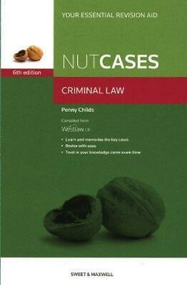 Nutcases: Criminal Law Revision Aid and Study Guide, Penny Childs, Good Conditio