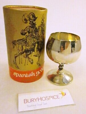 Falstaff Silver Plated Spanish Goblet Boxed (WH_8476)