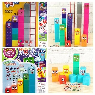 NEW CBEEBIES Official Numberblocks Collectors Edition Magazines & 1-5 & 6-10