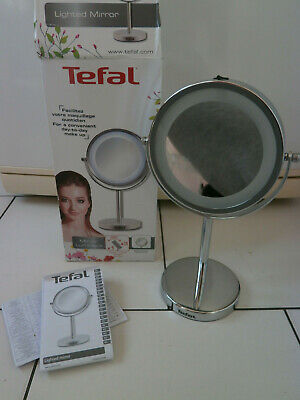 Tefal Miroir lumineux double face grossissant pivote MIRROR LIGHTED