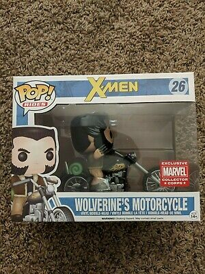 Funko Pop Marvel Collector Corps X-Men Wolverine's Motorcycle (Pop Rides) #26